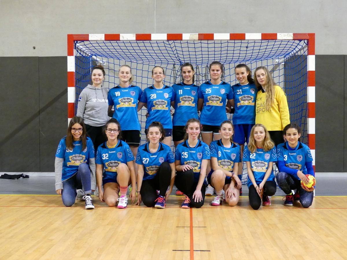 14 Ans F Challans Nov Handball